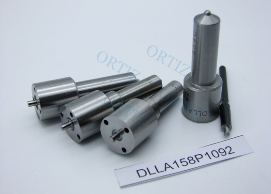 High Durability DENSO Injector Nozzle Silver Color 0 . 12MM Hole DLLA158P1092